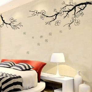 1000 ideas about tree wall stencils on pinterest for Cherry blossom wall mural stencil