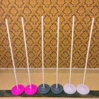 Wish   Balloon Column Base Arch & Column Kit Display Wedding Birthday Party Supplies Decoration Balloon Column Base Stand Waner