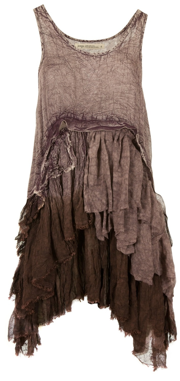 Love the texture  (miranda).  Looks like a cross between petticoat and nightgown