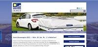 Jamet Vouwwagens / nieuwe website met CMS van QualitySites4All.com