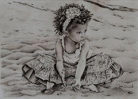 iinocenza, graphite portrait http://saraportrait.deviantart.com/