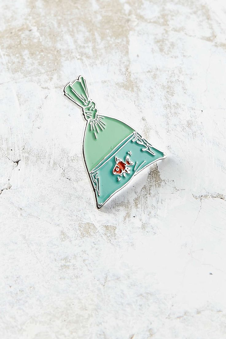 VERAMEAT Goldfish Pin