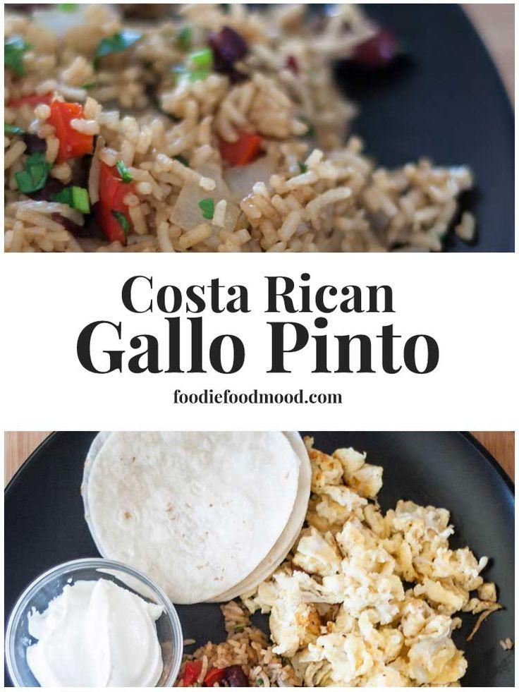 How to make Costa Rican Gallo Pinto | FoodieFoodMood.com