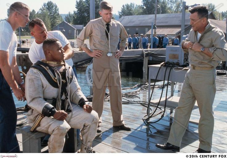 "Men of Honor - true story of Carl Brashear, the first African American Navy Diver.  ""History is made by those who break the rules."""
