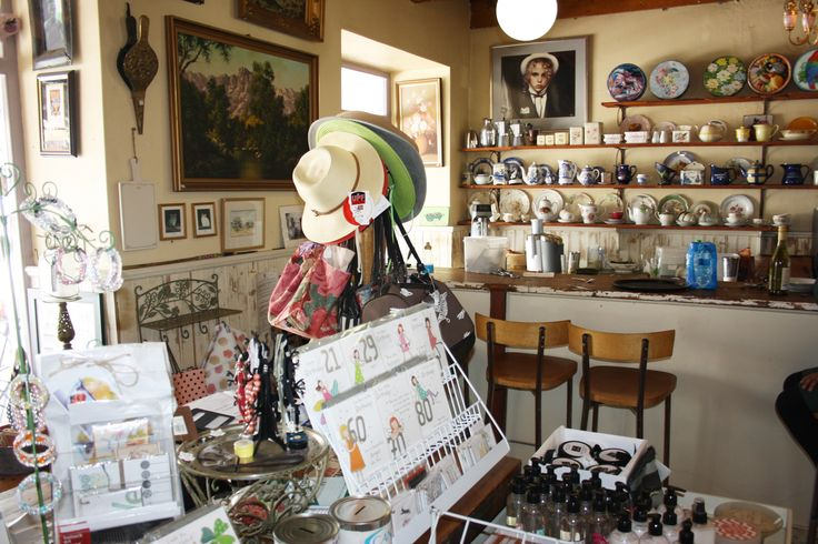 Quaint Tulbagh shop which sells hand-made gifts, décor and food stuffs.