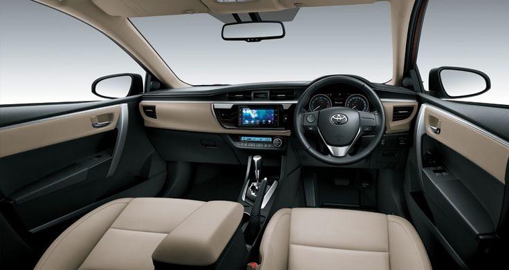 Corolla Altis 1800V Interior1