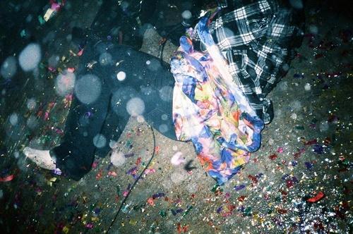 LCD Soundsystem Drunk Girls video shoot. Photo by Ruvan.