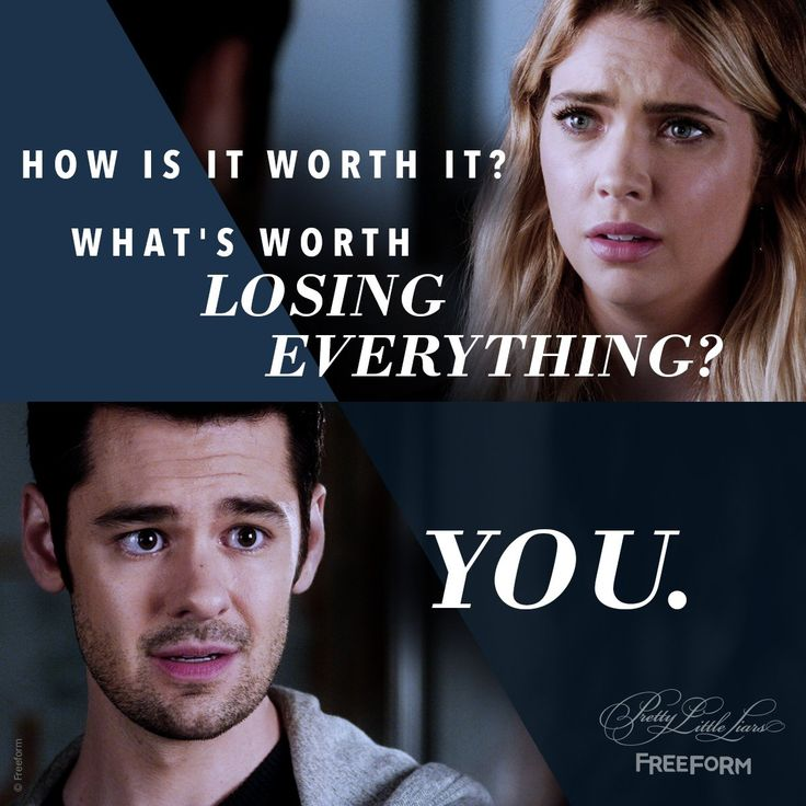 """S7 Ep16 """"The Glove That Rocks the Cradle"""" - You. #PLLEndGame"""