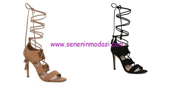Aldo topuklu gladyatör ayakkabı modelleri