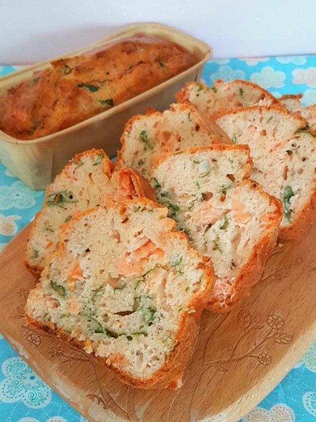 Cake au saumon micro onde