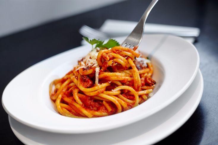 Špagety s paradajkovou omáčkou