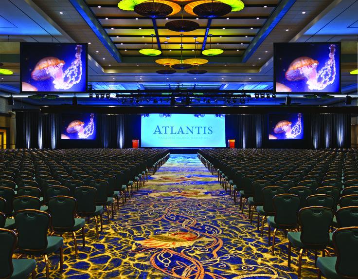 50 000 Sq Ft Imperial Ballroom At Atlantis Paradise