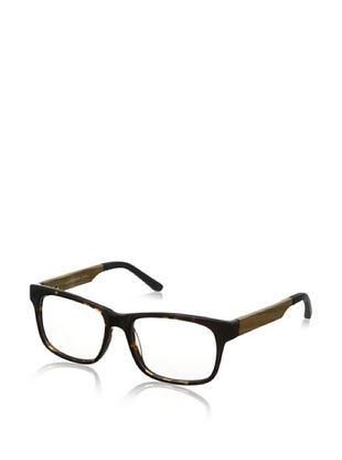 78% OFF Ivory + Mason Men's Sunset Eyeglasses, Black Grey Tortoise/Olive Oak