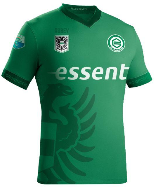 FC Groningen Away Shirt 2016 17