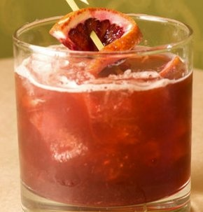 The Casablanca Cocktail - A rum-based Old-Fashioned with a blood orange twist #FoodRepublic