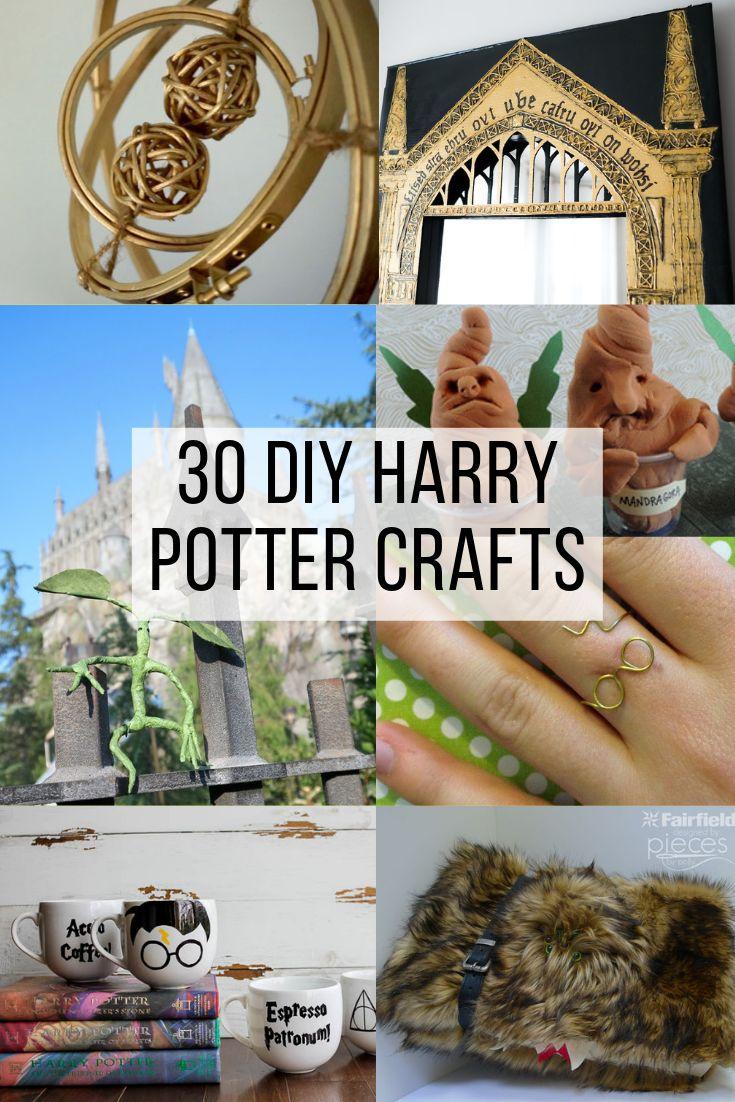 30 Harry Potter Diy Crafts Diy Deko