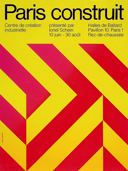 Jean Widmer - Poster