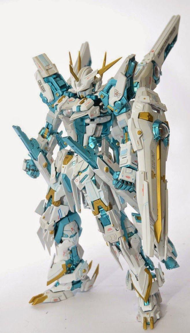 GUNDAM GUY: MG 1/100 GNA-X000 Gundam Speranza - Custom Build