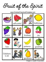 fun printables for the Fruit of the Spirit!