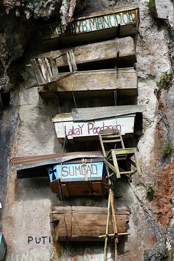 Sagada, cercueils suspendus