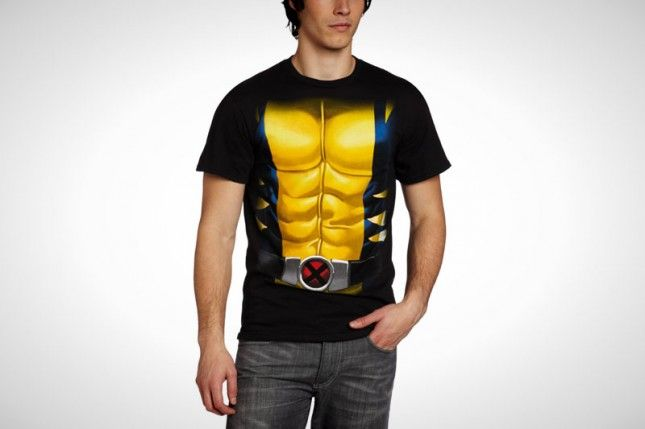 20 T-Shirt Costumes for a Lazy Halloween via Brit + Co.