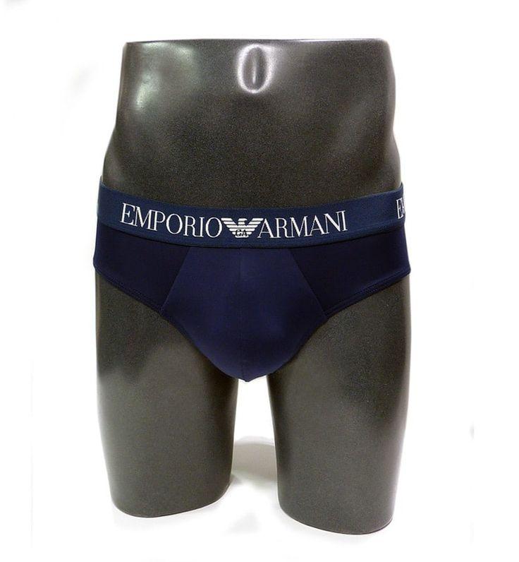SLIP BAÑADOR ARMANI, nuevo modelo de slip hombre pensado como ropa interior o prenda de baño ocasional. Microfibra aún más suave. + modelos varelaintimo.com