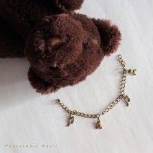 Music & Teddy Bracelet