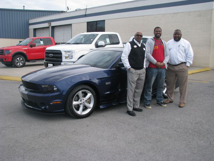 We had another pony escape the lot today! Here is Mr. Brian Lomas and his new 2012 Mustang GT Premium! Our own Chico Marable was delighted to work with Mr. Lomas in trading in his 2006 Impala for this beautiful new ride! From all of us here at Ford of Murfreesboro, congratulations on your new car, and welcome to the Ford family! Enjoy your new pony!