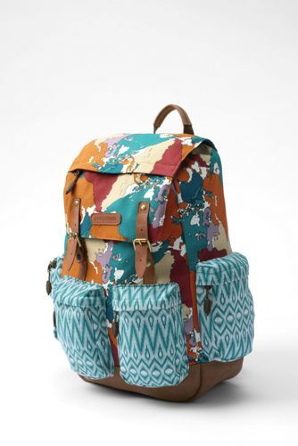 Kids Global ClassMate Backpack from Lands' End designed by Project Runway Junior Contest Peytie