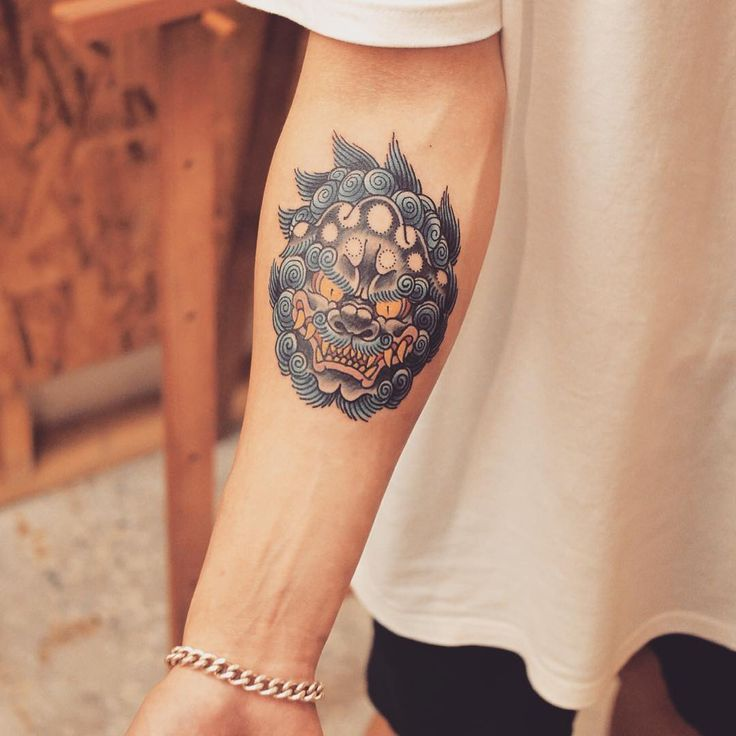 50 Fantastic Foo Dog Tattoo Ideas – A Creature Rich In Symbolic Meaning