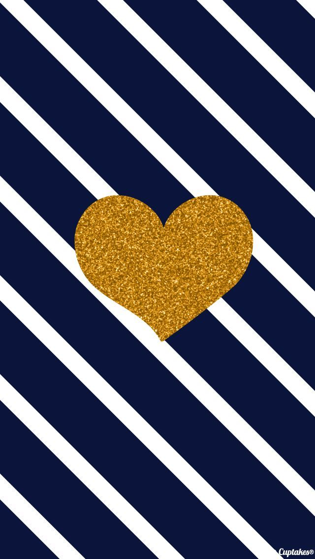 ↑↑TAP AND GET THE FREE APP! Art Creative Heart Gold Pattern Love HD iPhone Wallpaper
