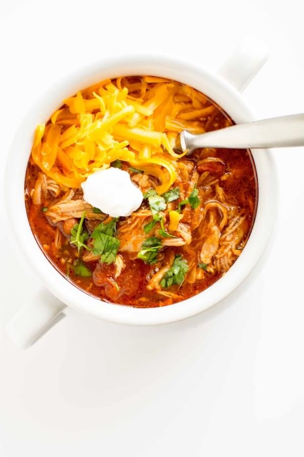 Slow Cooker Pulled Pork Chili - Slow Cooker Gourmet