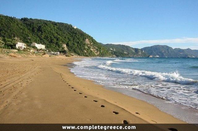 Glyfada Beach - Corfu - #Greece