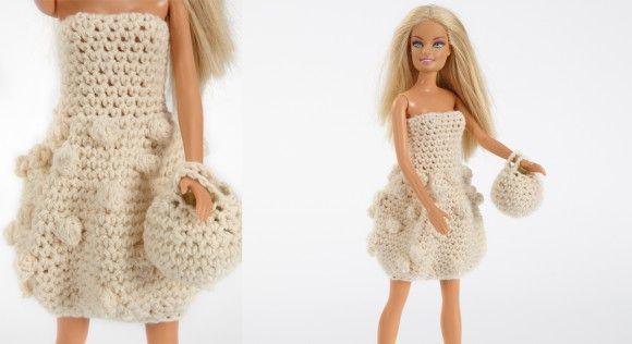 Découvrez le tutoriel de cet ensemble robe-sac mini, qui sera une création originale pour habiller des poupées de vêtements fait-main.  Fournitures :Fil à tricoter Phildar, qualité Phil ...