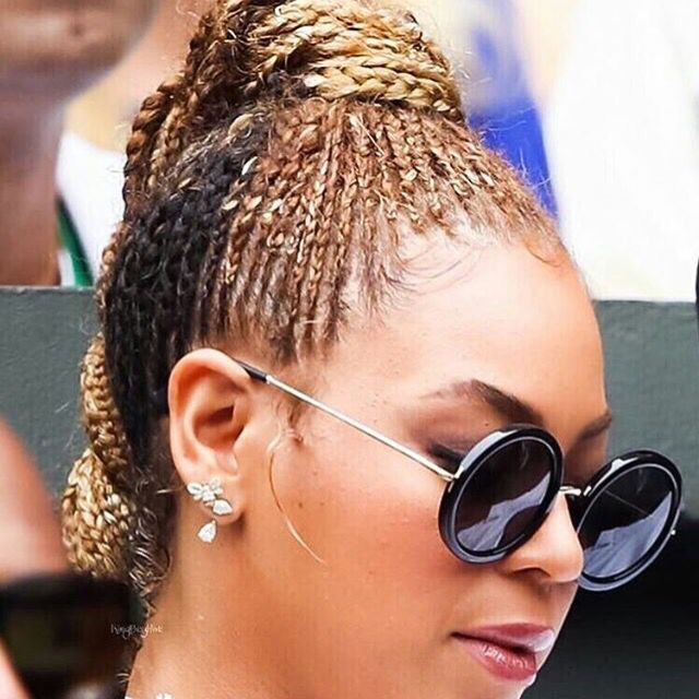 new hair style braids beyonce s new cornrows braid it cornrows 9170