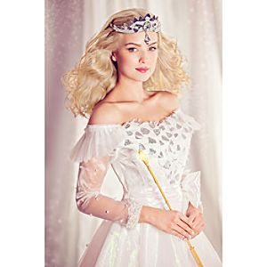 Disney Glinda Costume for Adults - Oz - Limited Edition - Pre-Order | Disney StoreGlinda Costume for Adults - Oz - Limited Edition - Pre-Order - Good witch Glinda's elegantly detailed gown, couture inspired by Oz The Great and Powerful, materializes as a limited edition of 300 worldwide; meticulously fabricated by Disney Store designers and Walt Disney Studio Authenticated.
