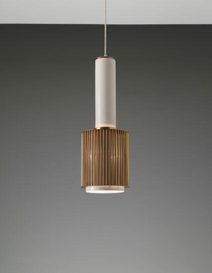 PHILLIPS : UK050313, ALVAR AALTO, 'Hand Grenade' ceiling light, model no. A111