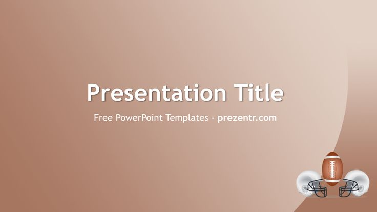American Football Powerpoint Template  Powerpoint Templates