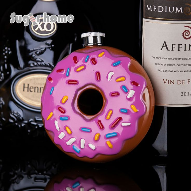 Hot-Sale-Portable-Doughnut-font-b-Flask-b-font-10-oz-Food-Grade-Stainless-Steel-Hip.jpg (800×800)