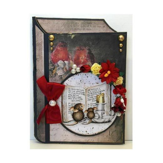 Dutch Doobadoo Card Art Template - Book #713599