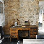 eski esyalar nasil degerlendirilir dekorasyonda kullanim alanlari eski calisma masasi
