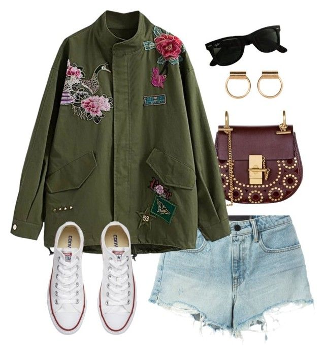 """Pre Fall"" by aboutmetheblog on Polyvore featuring T By Alexander Wang, Chloé, Converse and Ray-Ban"
