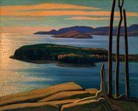 Lawren S. Harris - Soleil d'après-midi, rive nord du lac Supérieur - Musée des Beaux-Arts du Canada, Ottawa