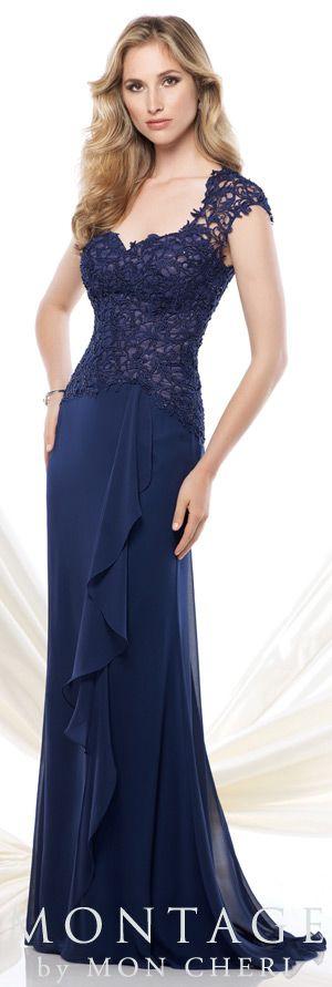 Montage by Mon Cheri Spring 2015 - Style No. 115967 montagebymoncheri.com   #eveningdresses #motherofthebridedresses