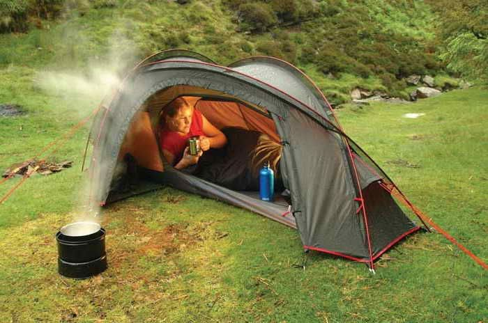 Lightweight One Person Backpacking Tent Hiking Tent Backpacking Tent 4 Season Tent