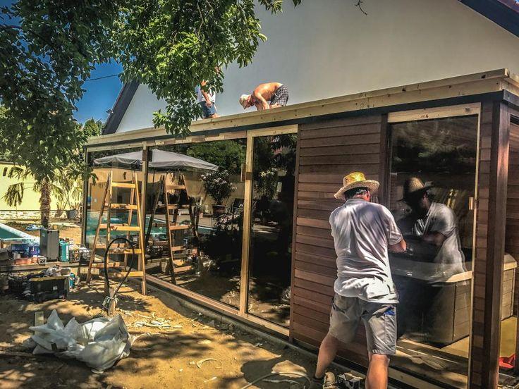 Saunový domek s vířivkou Villeroy & Boch