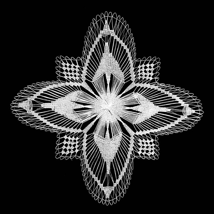 Croatian lace from island Hvar