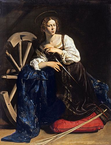 Caravaggio, Hl. Katharina von Alexandrien - St. Catherine of Alexandria - Santa Caterina d'Alessandria