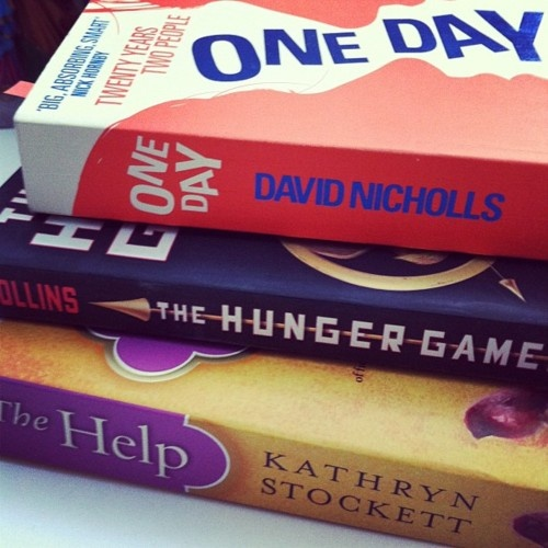 Order from top down:  Reading now  Read (loved)  Next up