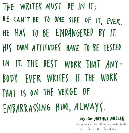 WriterWriting A Book, Remember This, Be A Writers, Food For Thoughts, Writing Quotes, Popular Book, So True, Writing Inspiration, Arthur Miller
